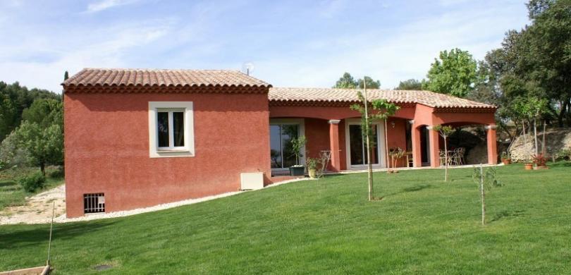 architecte construction maison Castillon-du-Gard