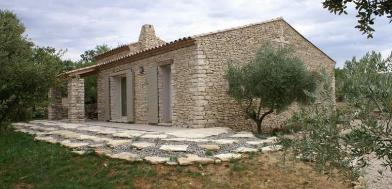 rénovation extérieure Castillon-du-Gard